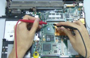 Замена/ремонт материнской платы на ноутбуке